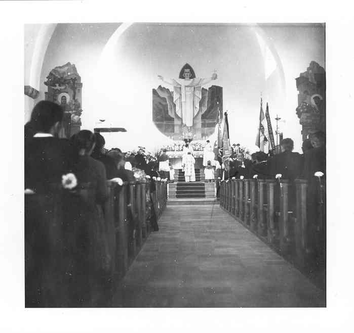 40 Ernst  Truttmann  Primitz Kirche Seelisberg