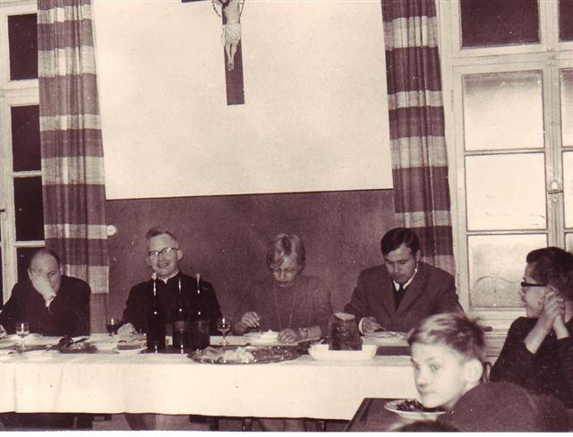 1963 Im Speisesaal am Nikolaustag