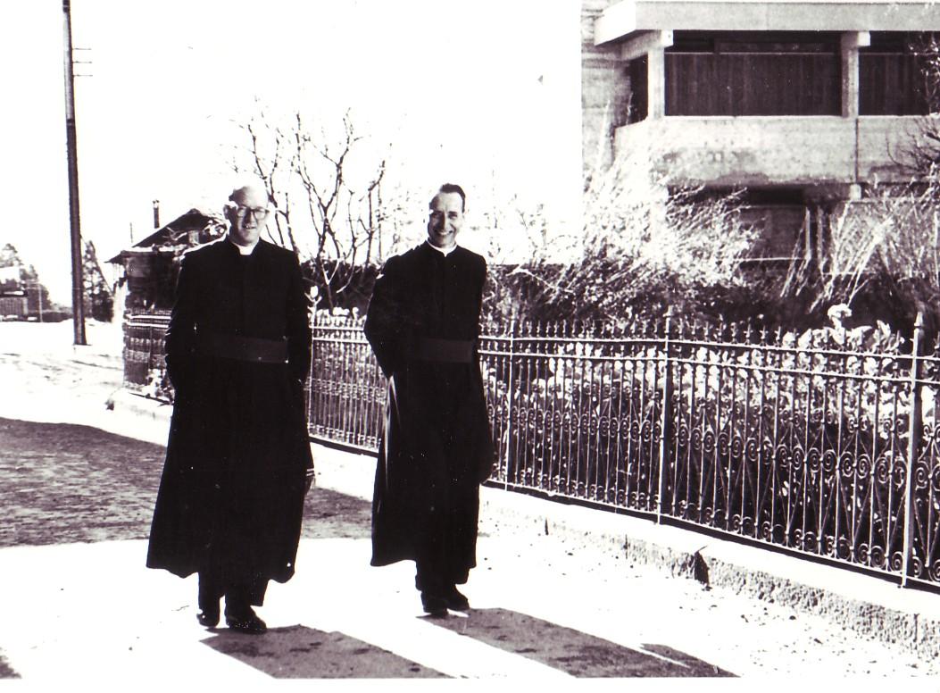 1963 Pater Kilian und Pater Bernhard