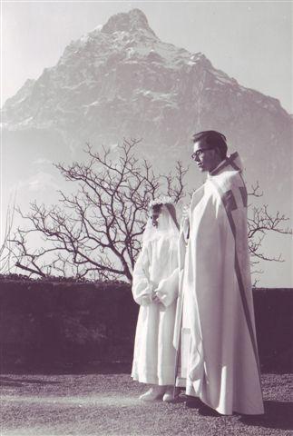 1963 Priesterweihe Dominik Muheim in Flüelen B