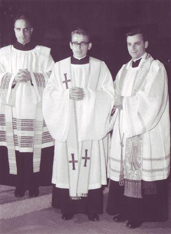 1964 Priesterweihe in Flüelen Muheim und Truttmann