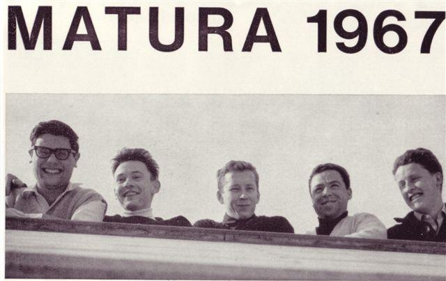 1967 Maturaklasse