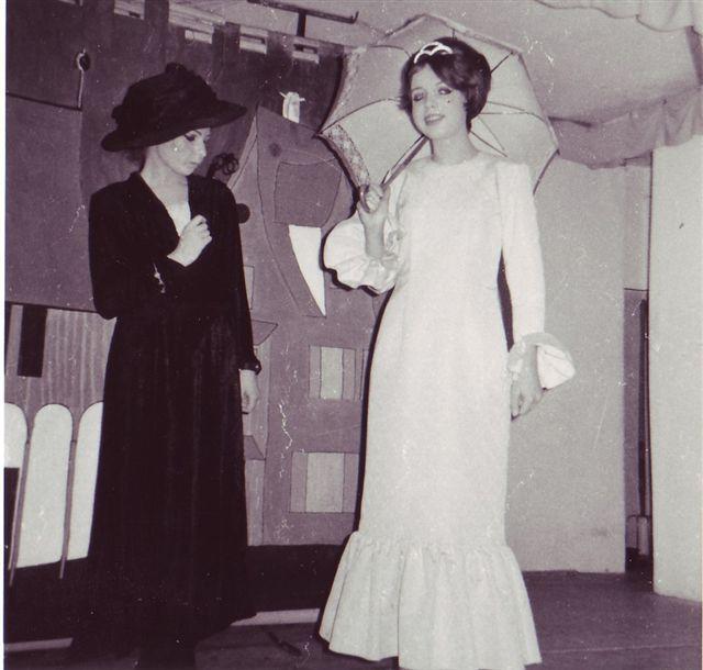 1968 Fischer und seine Frau mit Hanny