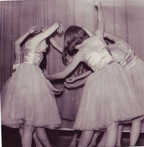 1969 Ballett mit Hanny