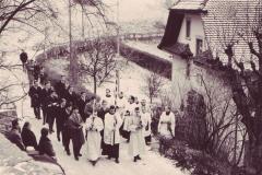 1963 Priesterweihe Einzug der Josefianer