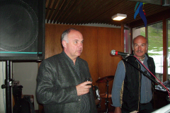 Walter Hagmann (Hagi) und Markus Reigel (Guli)