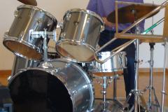 Giorgio on drums